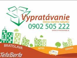 Vypratávanie bytov, garáží, pivníc v Ba a okolí  , Obchod a služby, Ostatné  | Tetaberta.sk - bazár, inzercia zadarmo