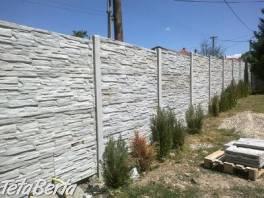 Betónové ploty IPK , Dom a záhrada, Stavba a rekonštrukcia domu  | Tetaberta.sk - bazár, inzercia zadarmo
