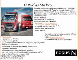 Vodič kamiónu , Práca, Práca v zahraničí  | Tetaberta.sk - bazár, inzercia zadarmo