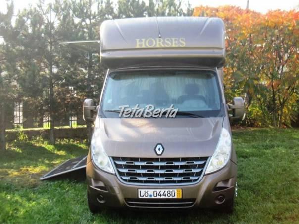 Renault Master 2,3 Dci,na prepravu koni, foto 1 Auto-moto, Automobily | Tetaberta.sk - bazár, inzercia zadarmo