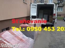 Sťahovanie Stará Turá Autodoprava Vypratávanie na kľúč 0950 453 202  , Obchod a služby, Preprava tovaru  | Tetaberta.sk - bazár, inzercia zadarmo