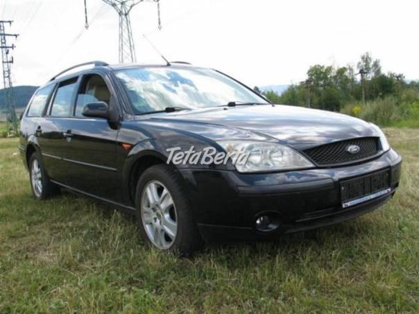 Ford Mondeo 2,0 TDCi Ghia 96Kw, foto 1 Auto-moto, Automobily | Tetaberta.sk - bazár, inzercia zadarmo