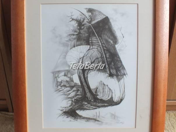 Predám obraz s dreveným rámom., foto 1 Hobby, voľný čas, Ostatné | Tetaberta.sk - bazár, inzercia zadarmo