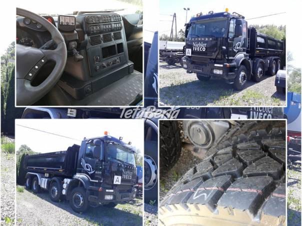 Vyklápac IVECO 410EH 8x4500 PS 2008 bordmatic Meiller, foto 1 Dodávky a nákladné autá, Nad 7,5 t   Tetaberta.sk - bazár, inzercia zadarmo