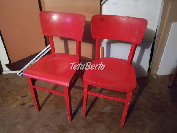 Predám drevené stoličky na renováciu., foto 1 Dom a záhrada, Stoly, pulty a stoličky | Tetaberta.sk - bazár, inzercia zadarmo