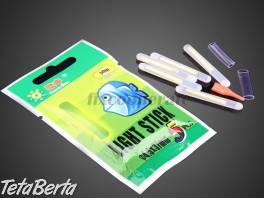 Chemické svetlo - svietiace tyčinky na ryby - 5 ks