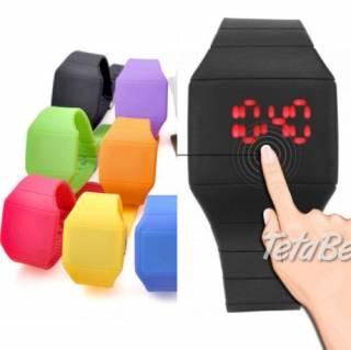 Digitálne dotykové LED hodinky, foto 1 Móda, krása a zdravie, Hodinky a šperky | Tetaberta.sk - bazár, inzercia zadarmo