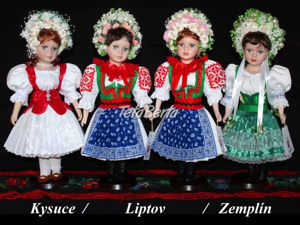 Predám nové slovenské krojované bábiky, foto 1 Hobby, voľný čas, Umenie a zbierky   Tetaberta.sk - bazár, inzercia zadarmo