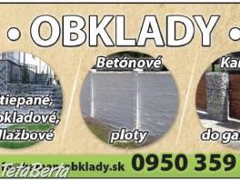 KAMEN - OBKLADY - PLOTY , Dom a záhrada, Brány a ploty  | Tetaberta.sk - bazár, inzercia zadarmo