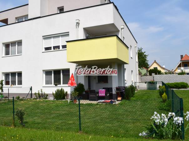 * NOVOSTAVBA S PARK. MIESTOM * Kompletne zariadený 2 izb. družstevný byt, 58m2 + terasa so záhradou 134m2 - BAD DEUTSCH ALTENBURG, foto 1 Reality, Byty | Tetaberta.sk - bazár, inzercia zadarmo