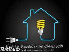 Elektrikár Bratislava + okolie NONSTOP , Obchod a služby, Stroje a zariadenia  | Tetaberta.sk - bazár, inzercia zadarmo
