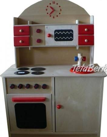 Detska drevená kuchynka, foto 1 Pre deti, Hračky | Tetaberta.sk - bazár, inzercia zadarmo