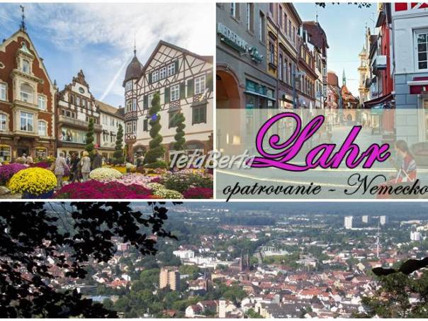 Lahr  – opatrovanie  manželov, foto 1 Práca, Zdravotníctvo a farmácia   Tetaberta.sk - bazár, inzercia zadarmo