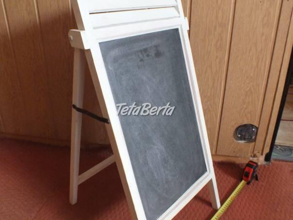 Predám dreveny stojan - tabuľu., foto 1 Pre deti, Ostatné | Tetaberta.sk - bazár, inzercia zadarmo