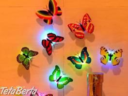 7-farebná nočná lampa motýľ , Dom a záhrada, Svietidlá, koberce a hodiny  | Tetaberta.sk - bazár, inzercia zadarmo
