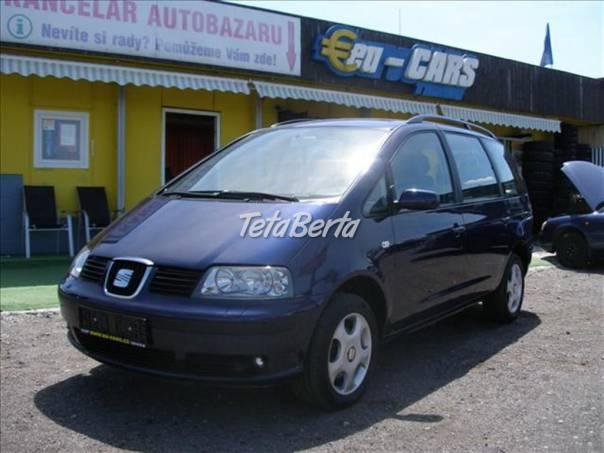 Seat Alhambra 1.9 TDi,  DIGIKLIMA,4x4,SERVIS, foto 1 Auto-moto, Automobily   Tetaberta.sk - bazár, inzercia zadarmo