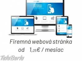 Web stránky-najlacnejšie , Obchod a služby, Ostatné  | Tetaberta.sk - bazár, inzercia zadarmo
