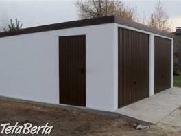 Montovaná garáž + omítka - celá SR , Reality, Garáže, parkovacie miesta    Tetaberta.sk - bazár, inzercia zadarmo