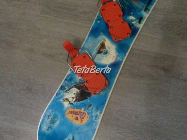 Detsky snowboard pre malých začiatočníkov- 91 cm, foto 1 Hobby, voľný čas, Šport a cestovanie | Tetaberta.sk - bazár, inzercia zadarmo