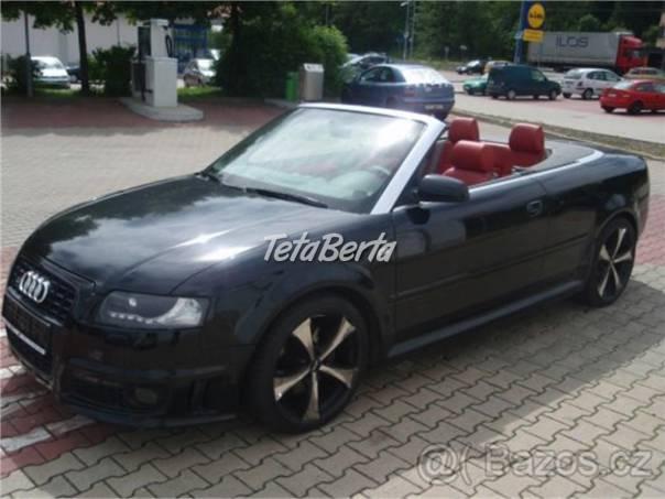 Audi S4 Audi A4 2.5TDI Cabrio, foto 1 Auto-moto, Automobily | Tetaberta.sk - bazár, inzercia zadarmo
