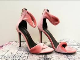Zamatové sandále - NOVÉ , Móda, krása a zdravie, Obuv  | Tetaberta.sk - bazár, inzercia zadarmo