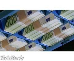 ponuka úveru , Práca, Manažment  | Tetaberta.sk - bazár, inzercia zadarmo
