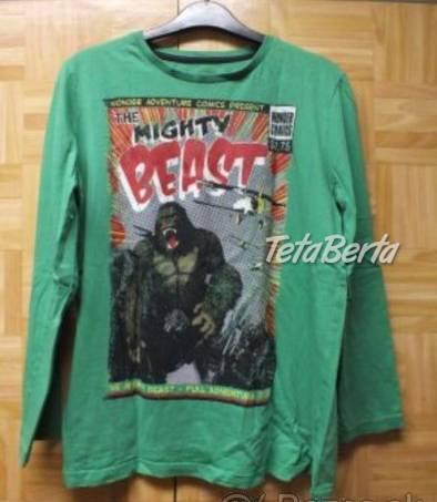 Predám zelené tričko veĺkosť 164., foto 1 Pre deti, Detské oblečenie | Tetaberta.sk - bazár, inzercia zadarmo