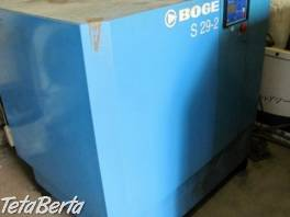 Použitý skrutkový kompresor Boge S29-2-10   , Obchod a služby, Stroje a zariadenia  | Tetaberta.sk - bazár, inzercia zadarmo