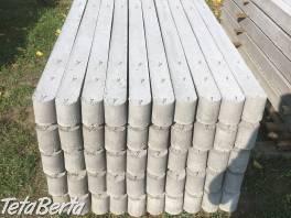 Betonove stlpiky  , Dom a záhrada, Brány a ploty  | Tetaberta.sk - bazár, inzercia zadarmo