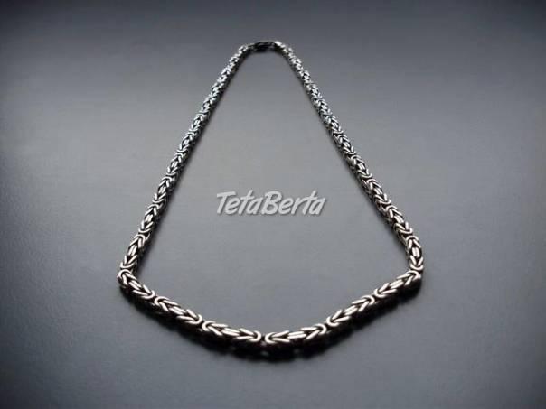 strieborna retiazka - Kralovsky vzor, foto 1 Móda, krása a zdravie, Hodinky a šperky   Tetaberta.sk - bazár, inzercia zadarmo