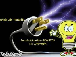 Elektrikár Bratislava - NONSTOP , Elektro, Sporáky, rúry na pečenie a mikrovlnky  | Tetaberta.sk - bazár, inzercia zadarmo