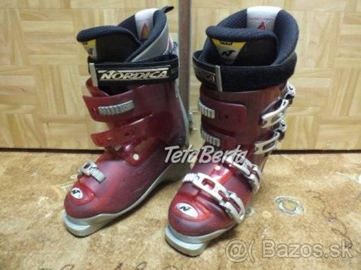 Predám zachovalé lyžiarky Nordica. a960084a778