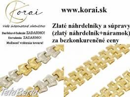 Zlaté náhrdelníky a súpravy KORAI , Móda, krása a zdravie, Hodinky a šperky  | Tetaberta.sk - bazár, inzercia zadarmo