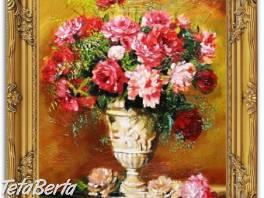 KYTICE - 2 - olejomalba na plátně - bohatě zdobený rám 630x530mm  , Hobby, voľný čas, Umenie a zbierky  | Tetaberta.sk - bazár, inzercia zadarmo