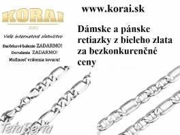 Retiazky z bieleho zlata od KORAI šperky , Móda, krása a zdravie, Hodinky a šperky  | Tetaberta.sk - bazár, inzercia zadarmo