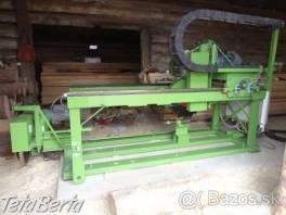 Stroj na výrobu drevených šindlov.