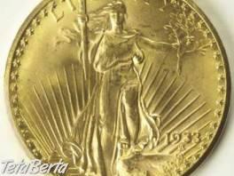 Zlatý US Dvaceti dolar , Hobby, voľný čas, Ostatné  | Tetaberta.sk - bazár, inzercia zadarmo