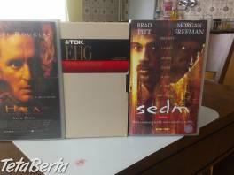 Videotéka S-VHS, cca 100 kazet