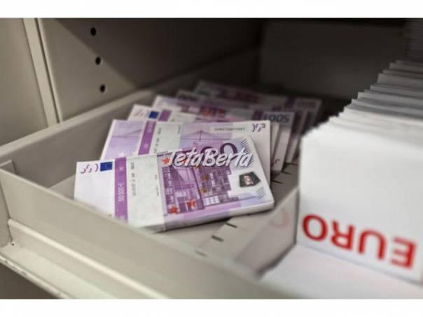 Pripravené pre každého, kto chce, foto 1 Obchod a služby, Financie   Tetaberta.sk - bazár, inzercia zadarmo