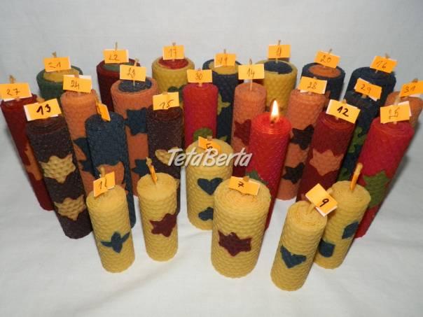 Dekoratívne farebné voskové sviečky - rôzne druhy, foto 1 Dom a záhrada, Zo záhradky | Tetaberta.sk - bazár, inzercia zadarmo