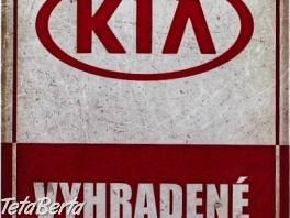 Vyhradené parkovanie - KIA , Náhradné diely a príslušenstvo, Ostatné  | Tetaberta.sk - bazár, inzercia zadarmo