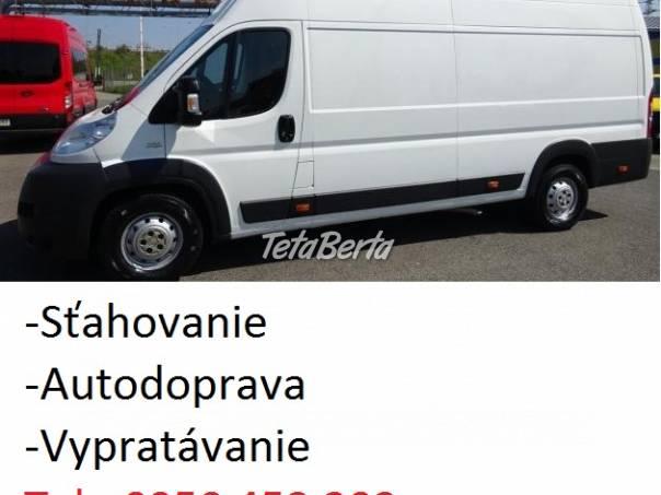 Stará Turá Sťahovanie Autodoprava, Vypratávanie, foto 1 Obchod a služby, Preprava tovaru   Tetaberta.sk - bazár, inzercia zadarmo