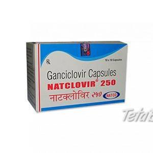Natclovir Ganciclovir 250 mg kapsula, foto 1 Móda, krása a zdravie, Starostlivosť o zdravie   Tetaberta.sk - bazár, inzercia zadarmo