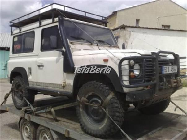 Land Rover Defender Land Rover Defender 90 rozprodám na díly, foto 1 Auto-moto | Tetaberta.sk - bazár, inzercia zadarmo