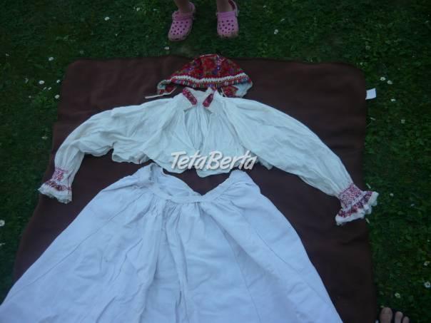 e19deaaba Predám ludové kroje, foto 1 Móda, krása a zdravie, Oblečenie | Tetaberta.