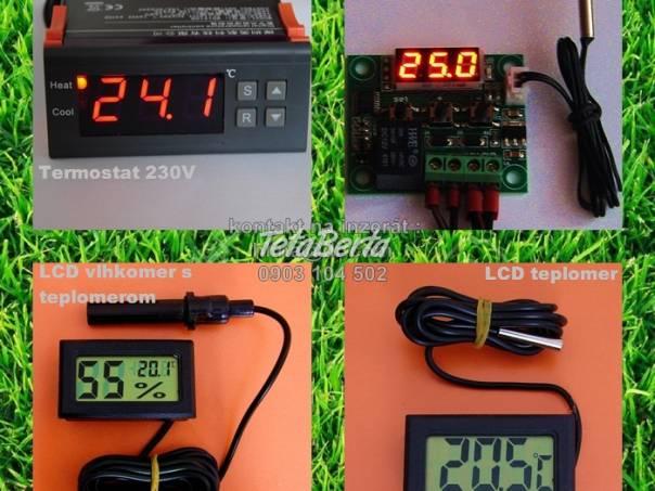 Digitalny termostat, LCD vlhkomer, teplomer liahen, foto 1 Zvieratá, Hospodárske zvieratá   Tetaberta.sk - bazár, inzercia zadarmo