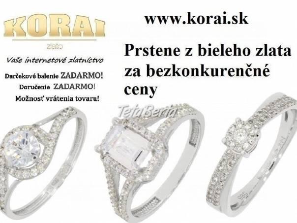Prstene z bieleho zlata od KORAI, foto 1 Móda, krása a zdravie, Hodinky a šperky | Tetaberta.sk - bazár, inzercia zadarmo
