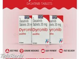 Dyronib 20mg (dasatinib 20mg) tablety vývozca a veľkoobchod v Indii , Móda, krása a zdravie, Starostlivosť o zdravie  | Tetaberta.sk - bazár, inzercia zadarmo