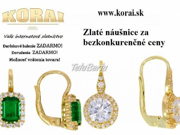 Zlaté náušnice KORAI, foto 1 Móda, krása a zdravie, Hodinky a šperky   Tetaberta.sk - bazár, inzercia zadarmo