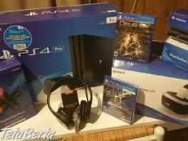 Sony Playstation 4 pro s Vr , Elektro, Video, dvd a domáce kino  | Tetaberta.sk - bazár, inzercia zadarmo